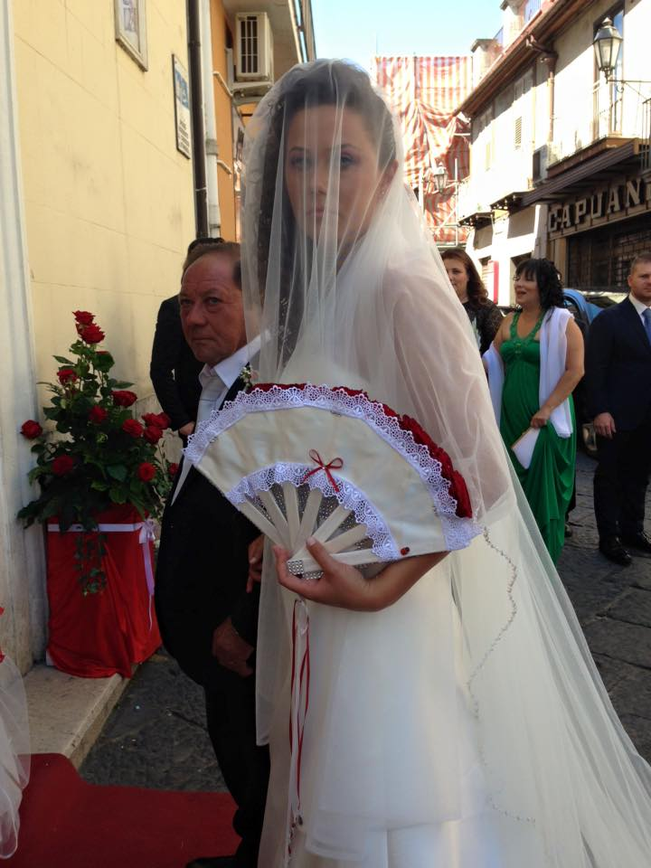 Manlio carrelli wedding dress